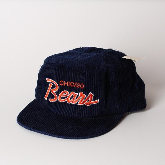 8e369f04851 NWT Vintage Chicago Bears Corduroy Hat